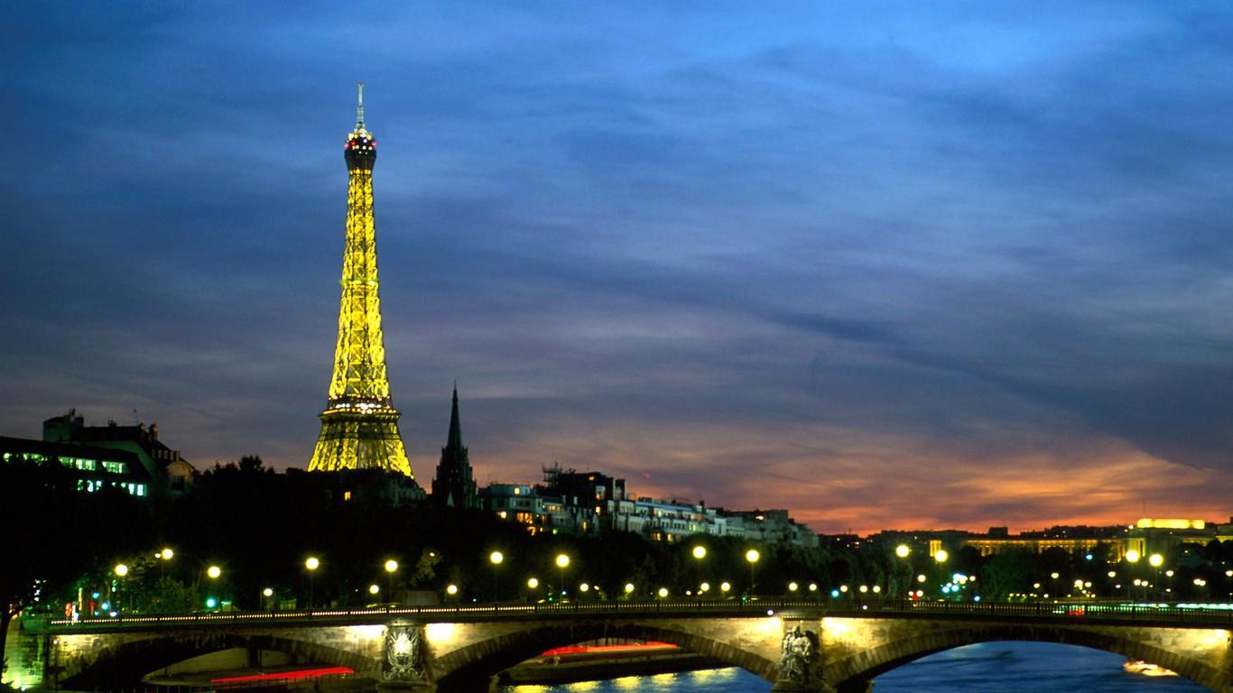个性网-美图-巴黎『铁塔』_情感意境_风景