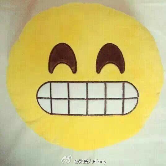emoji表情枕头 我也是醉了!图片