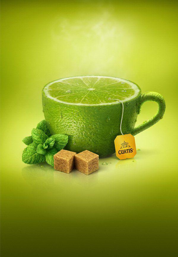 创意水果茶