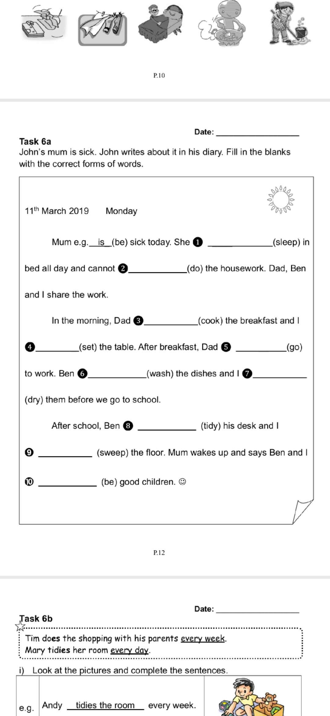小学-英语-填空题